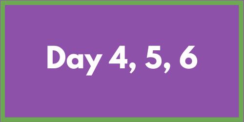 Day 6, Saturday Chaos